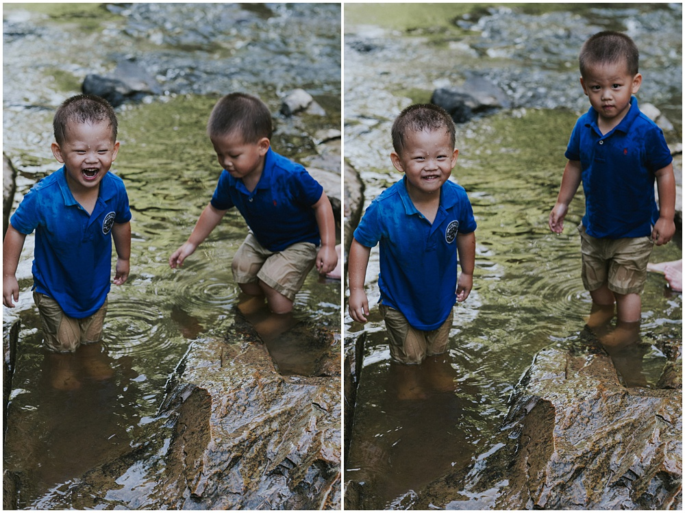 Playing in the Water Family Photographer Michigan