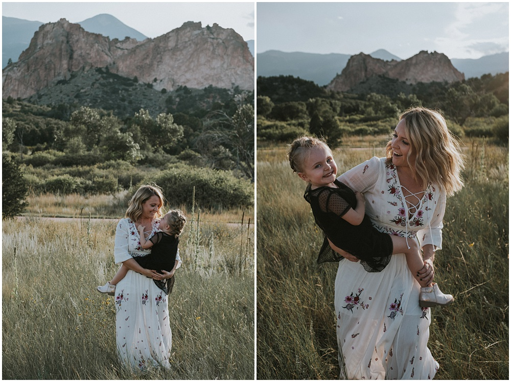 Mother Daughter Family Session Colorado