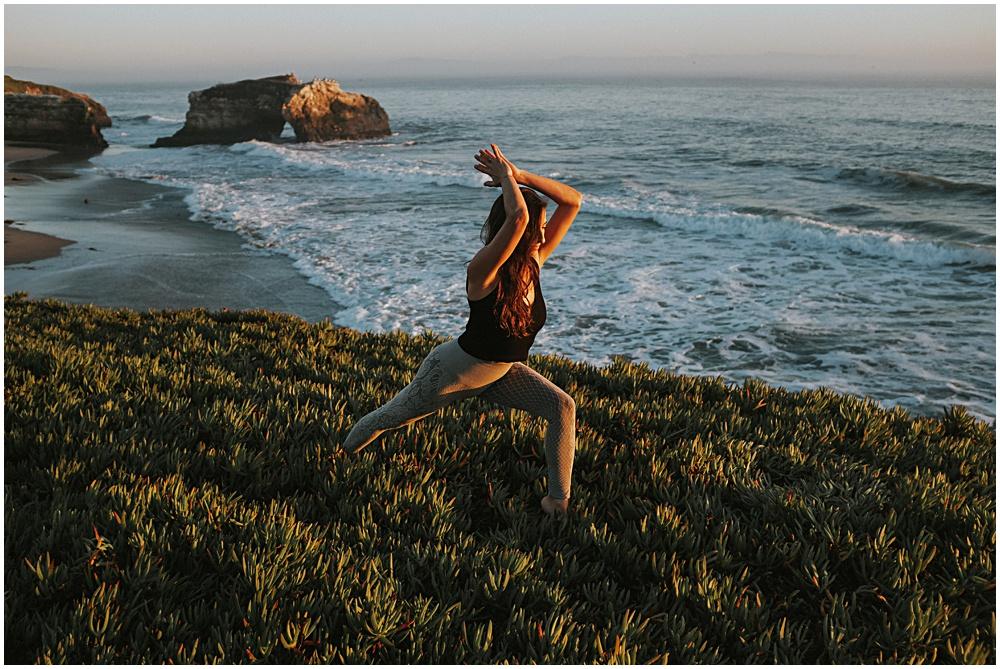Yoga at the Beach Michigan Photographer Travel
