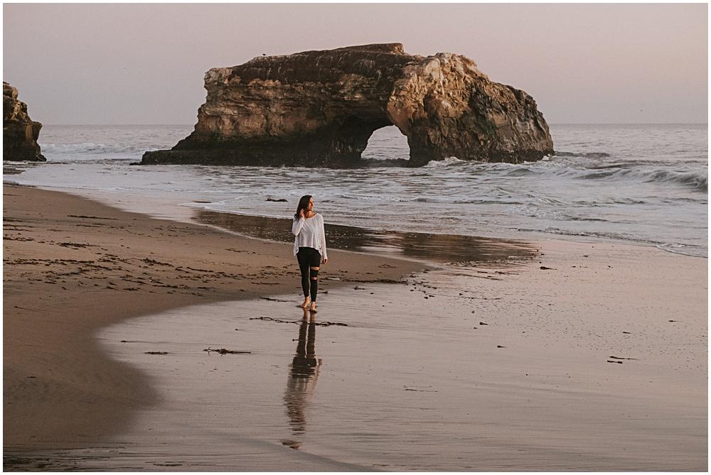 Yoga by the Beach Natural Bridges