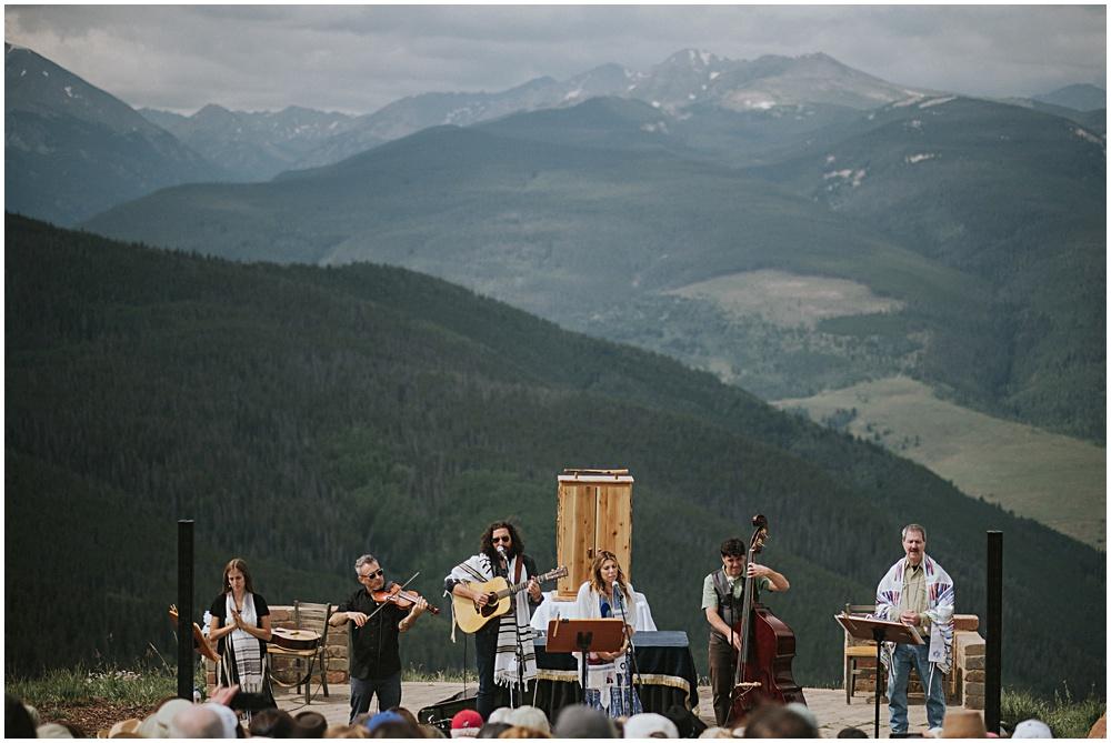 Vail Colorado Mountaintop Celebration