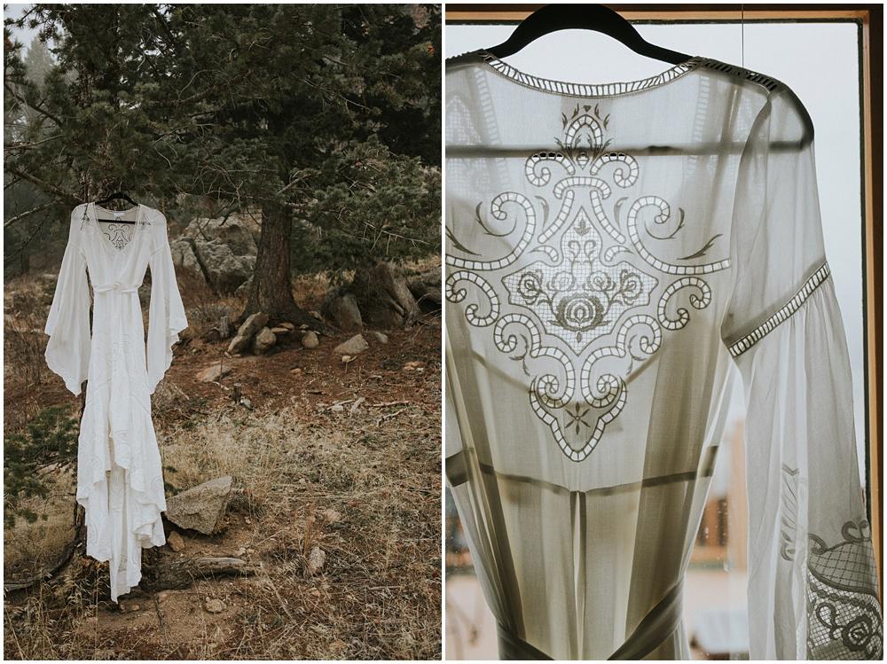 Colorado Wedding Dress Elepement