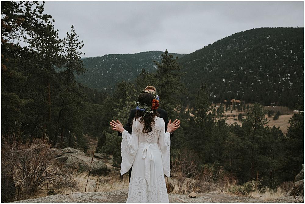 Estes Park Colorado Wedding
