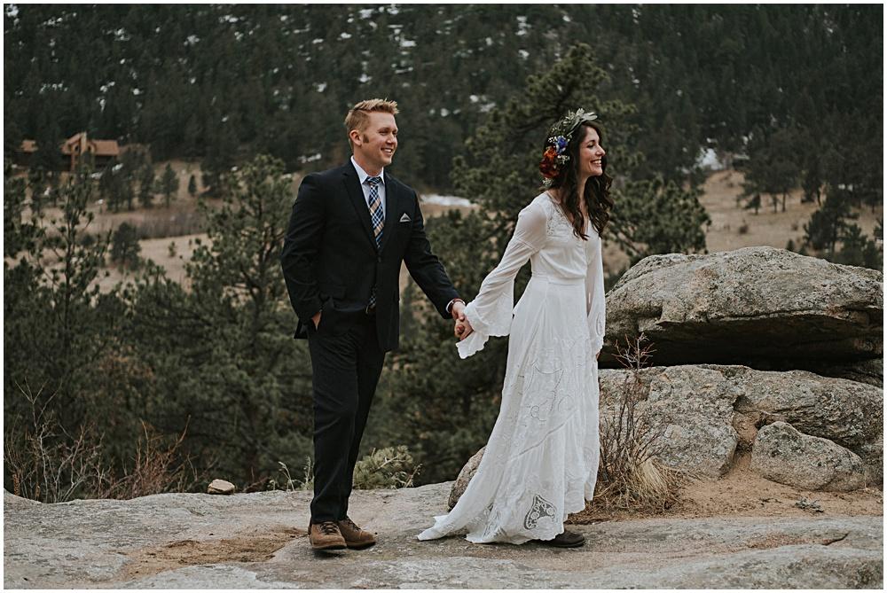 Estes Park RMNP Wedding Elopement