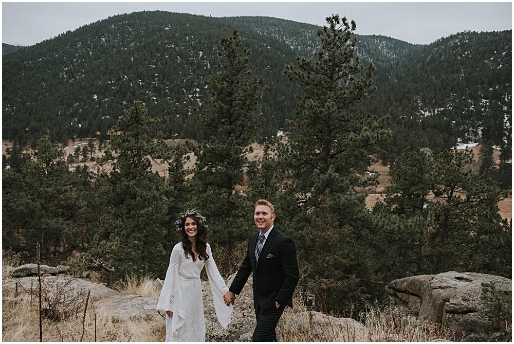 Rocky Mountain National Park Elopement Colorado