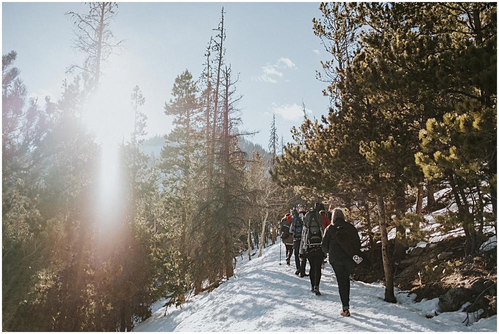 Mountaintop Wedding in Colorado