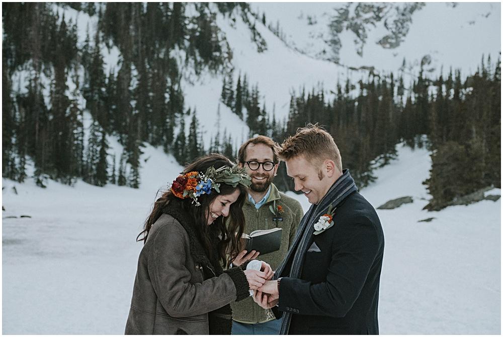 Colorado Wedding Dream Lake Photographer