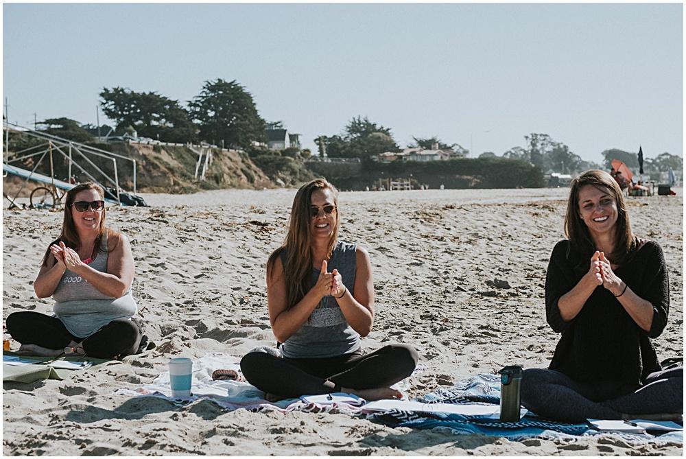 Yoga Teacher Training at the Beach Santa Cruz