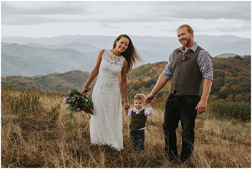 Wedding Ceremony Blue Ridge Mountains