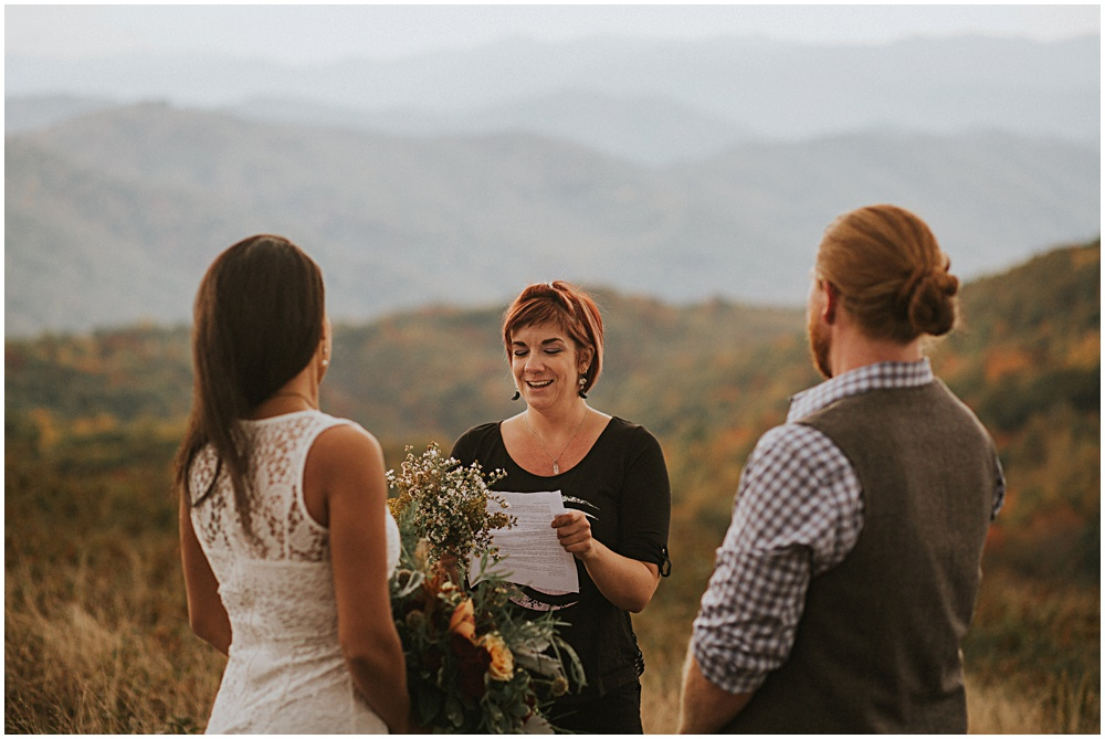 Blue Ridge Mountains Wedding Elopement