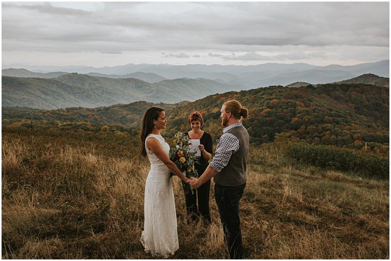 Ceremony on Top of Blue Ridge Mountains