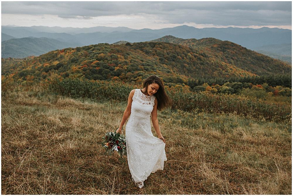 Blue Ridge Mountains Wedding North Carollina