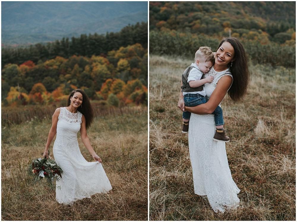 Wedding Blue Ridge Mountains
