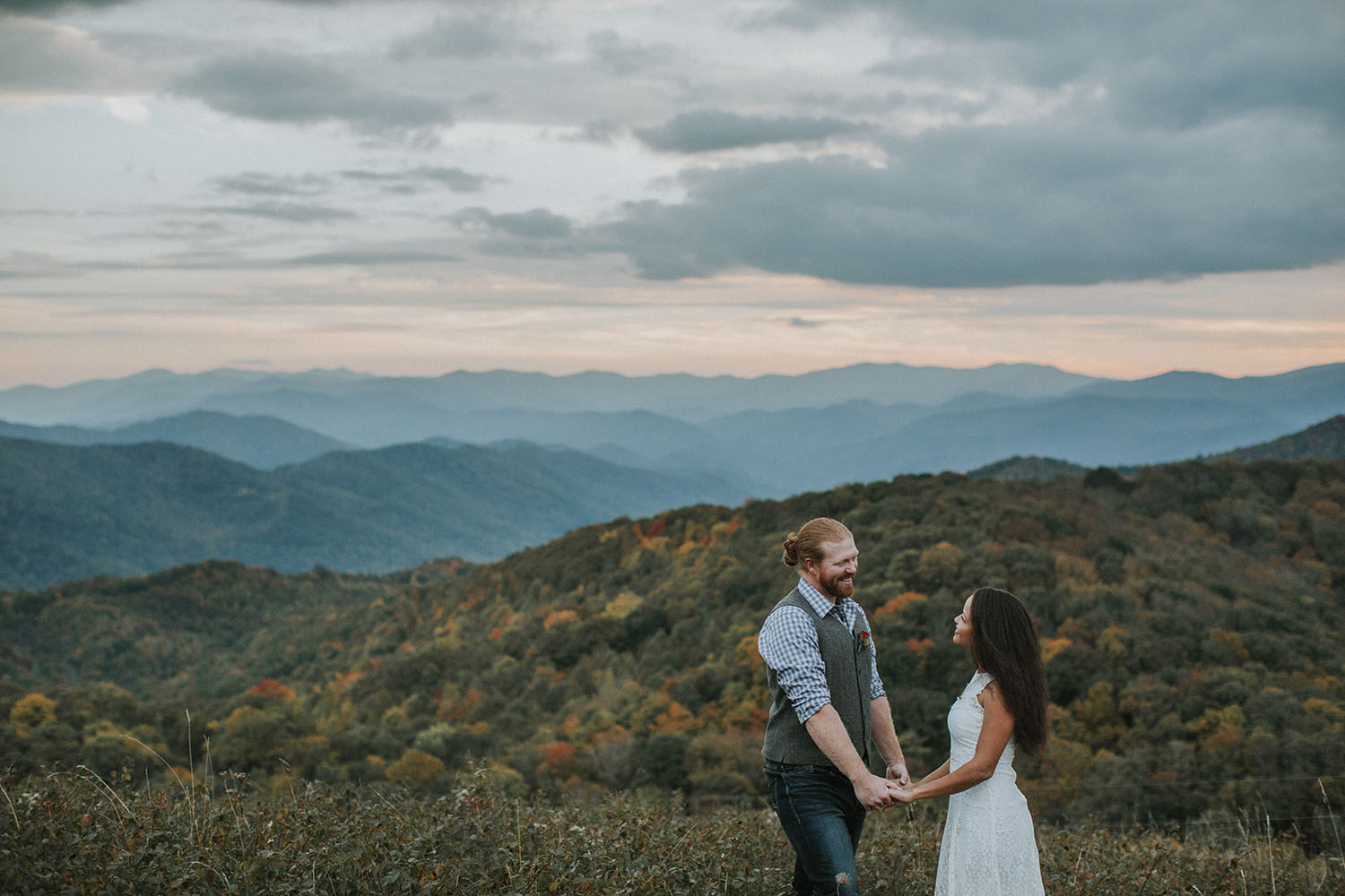 Brittany and Adam Elopement in the Blue Ridge Mountains