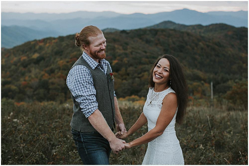 Max Patch Elopement Wedding North Carolina