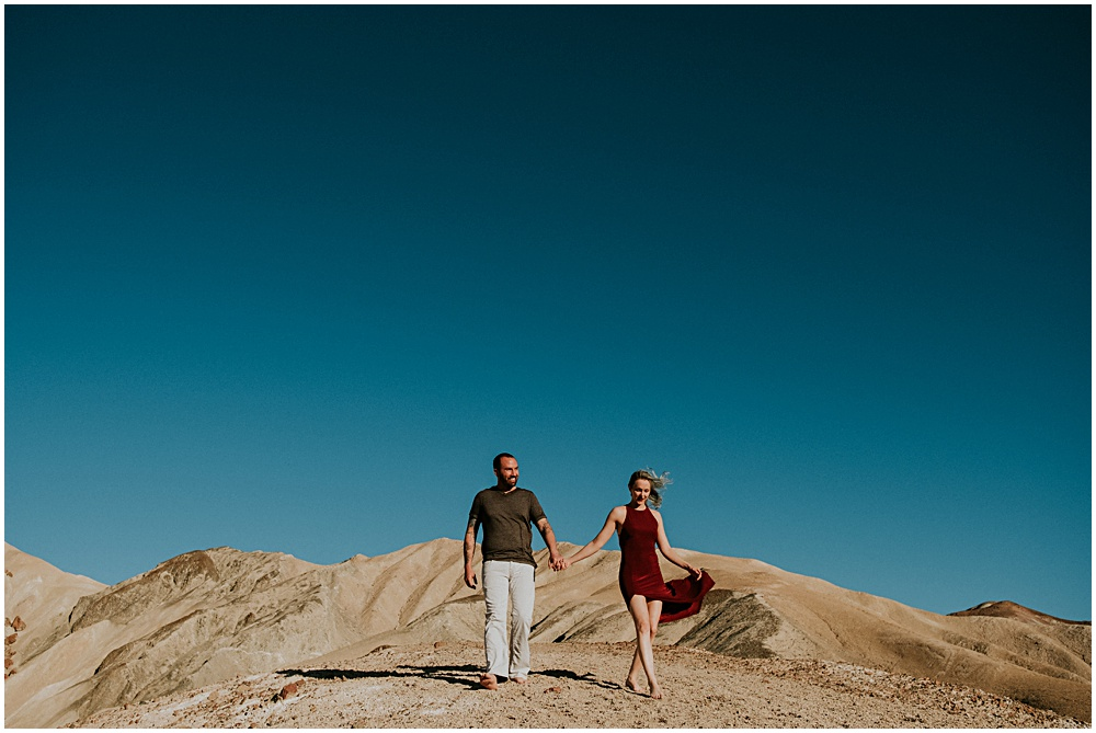 Death Valley Engagement Session