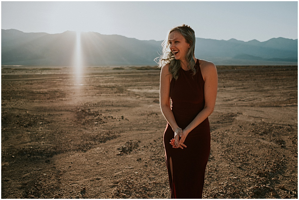 Death Valley Photographer Engagement Session