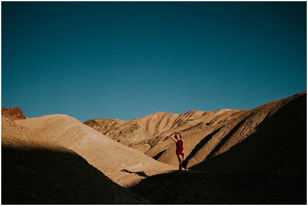 Death Valley Photographer Engagement