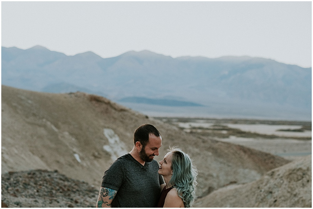 Adventure Session Death Valley California Engagement