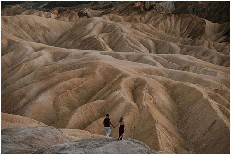 Death Valley Engagement Session Couples Session