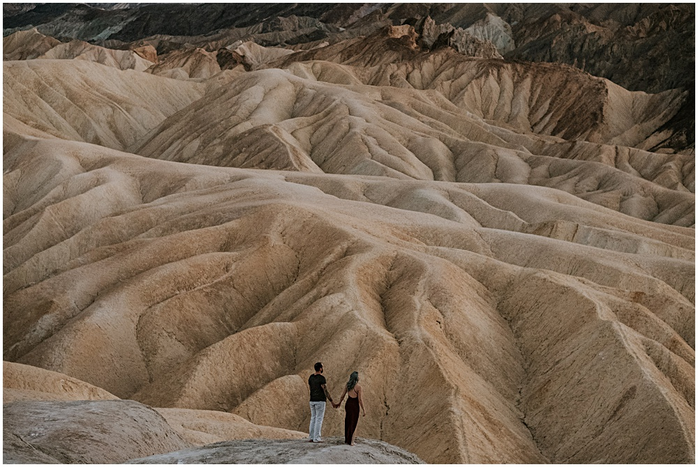 Zabriskie Point Couples Session Death Valley