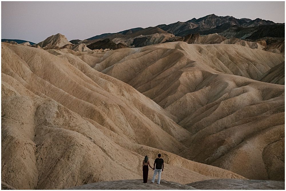 Elopement Death Valley Zabriskie Point