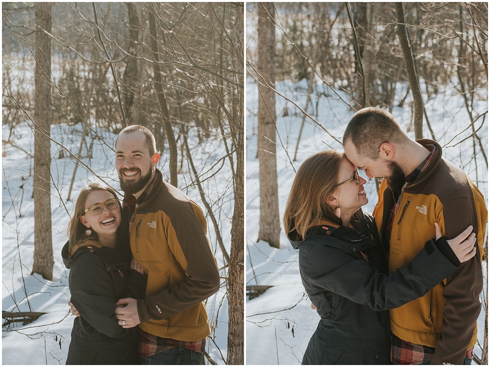 Engagement Shoot Charlevoix Michigan