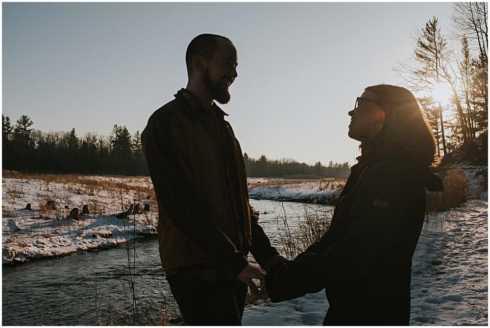 Engagement Shoot in Michigan Traverse City