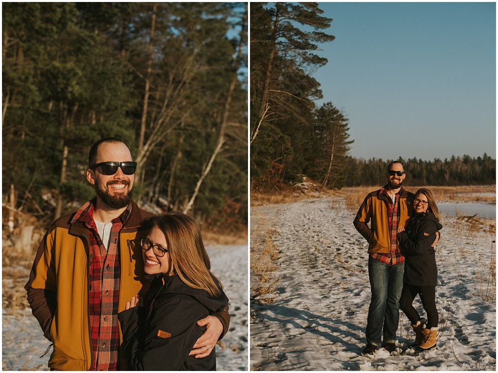 Northern Michigan Couples Session