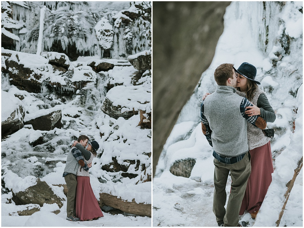 North Carolina Waterfall Engagement