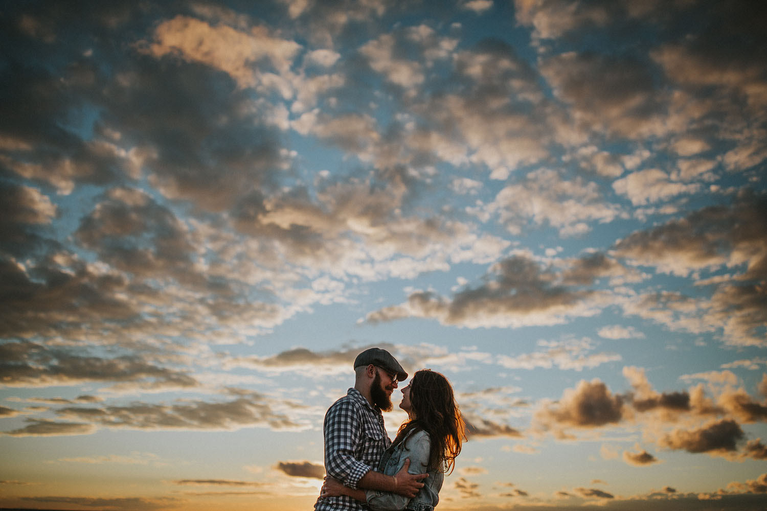 Northern Michigan Engagement Session - Torey and Stephen at Sleeping Bear
