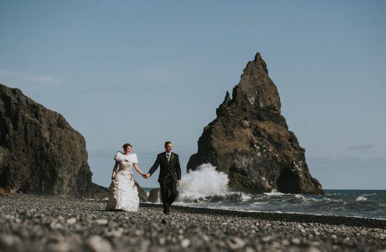 Reynisfjara Iceland Elopement Wedding