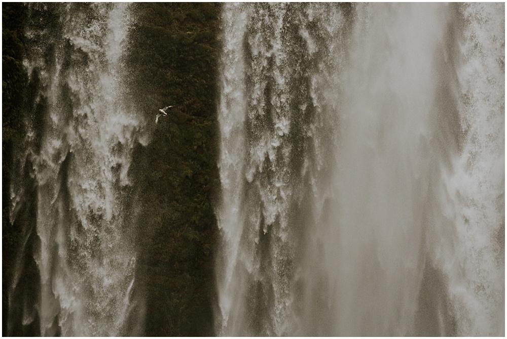 Skogafoss Iceland Wedding Waterfall