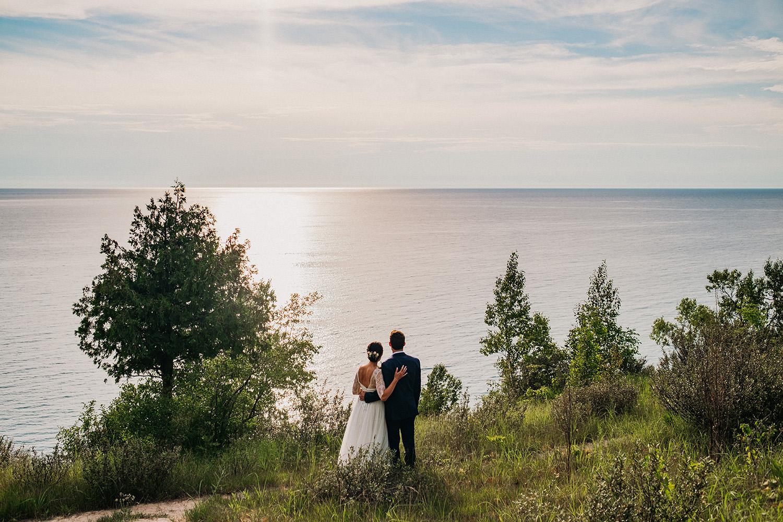 Michigan Elopement Lake