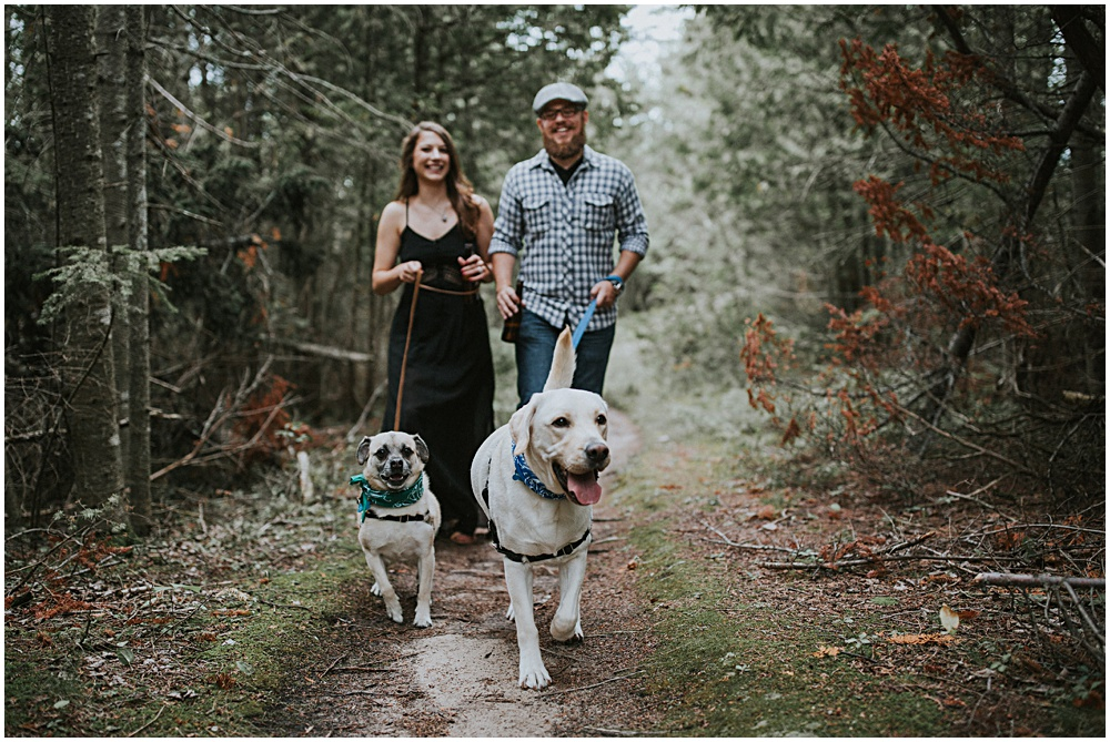Traverse City Engagement Session Lake Leelanau