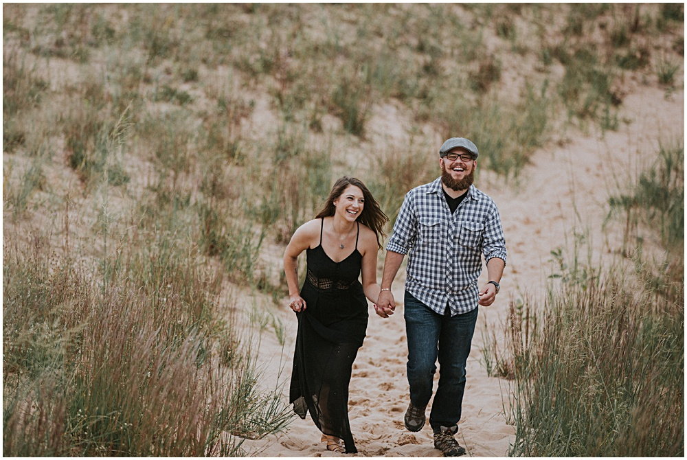 Sleeping Bear Dunes Couples Session Traverse City