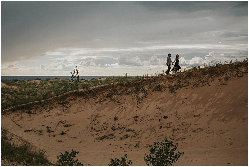 Empire Engagement Photographer Sleeping Bear Dunes
