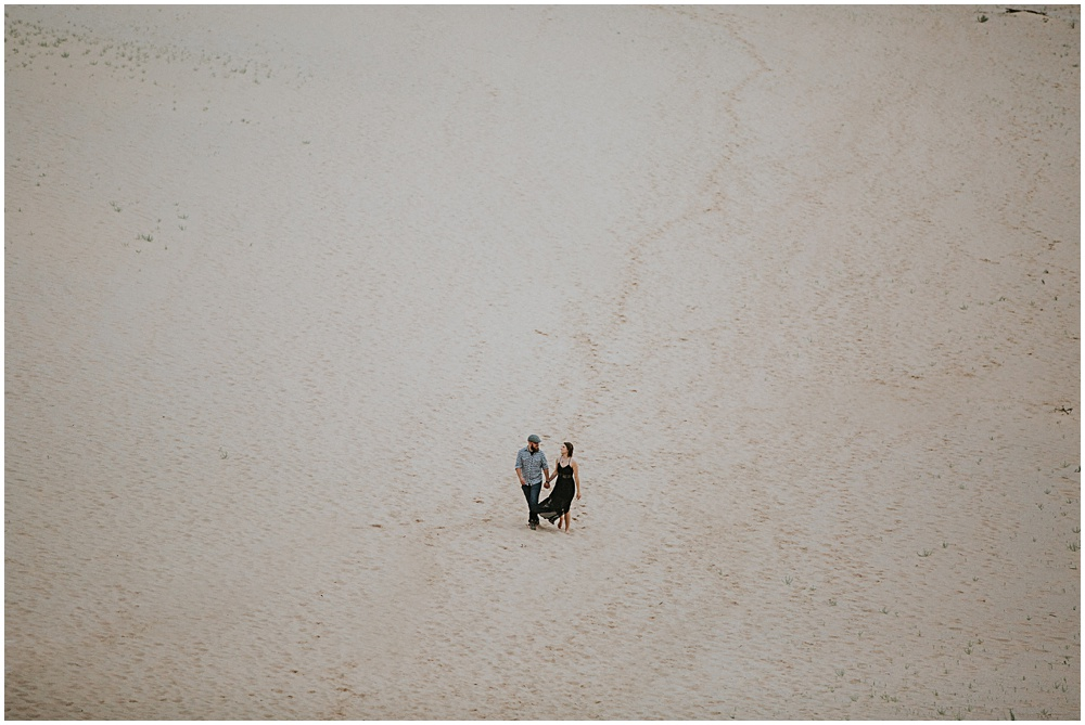 Sleeping Bear Dunes Engagement Photographer