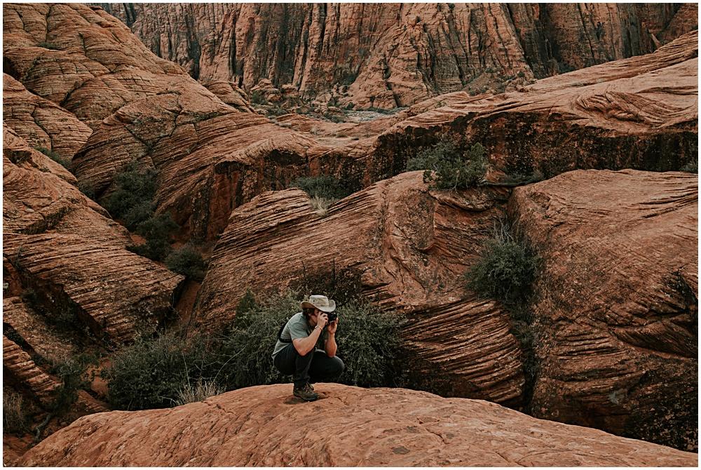 Adventure Session in Utah Engagement
