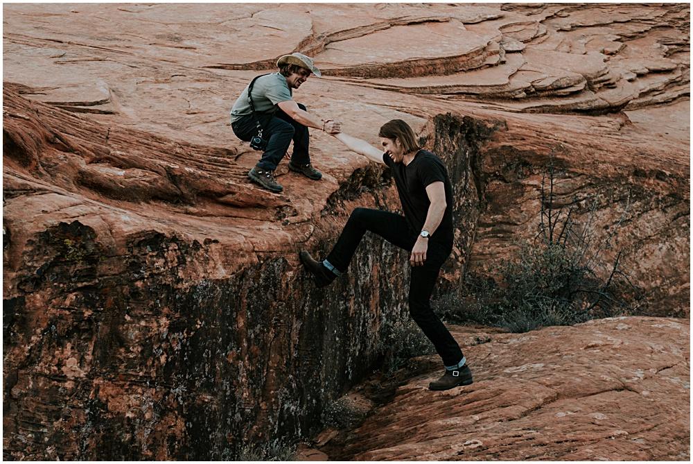 Adventure Session Utah Engagement