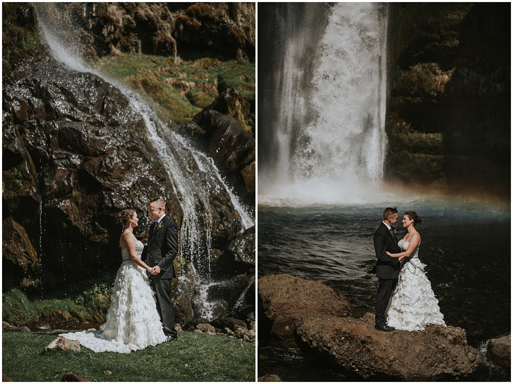 Hidden Waterfalls Iceland Couples Session