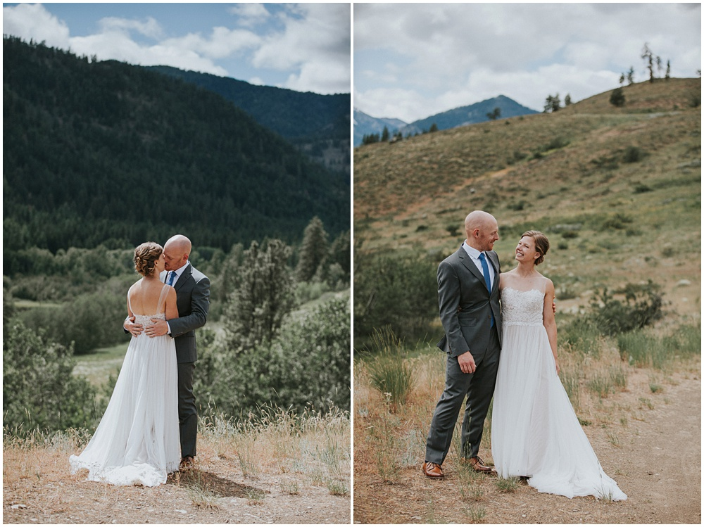 Methow Valley Wedding North Cascades
