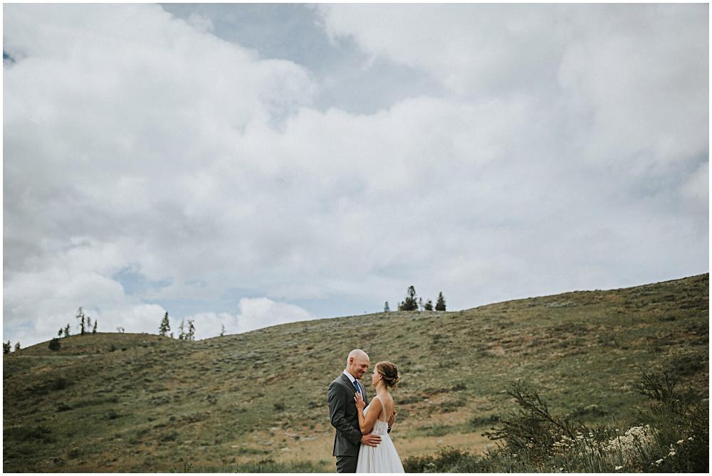 Sun Mountain Lodge North Cascades Wedding