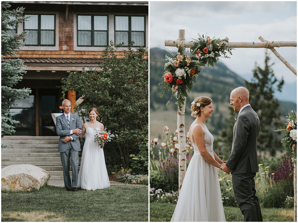 Sun Mountain Lodge Wedding North Cascades