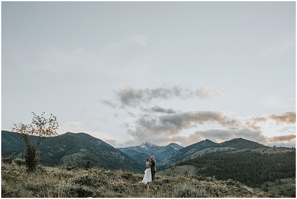 Elopement Wedding North Cascades