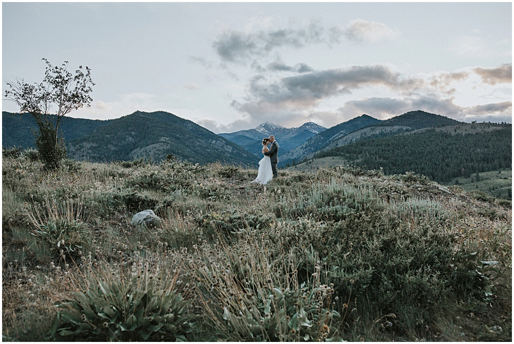 North Cascades Wedding Elopement