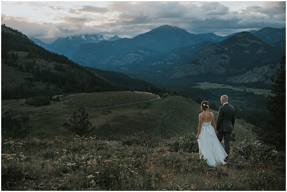 Sun Mountain Lodge Wedding Elopement