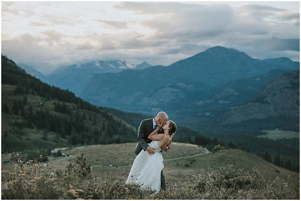Elopement Wedding Sun Mountain Lodge