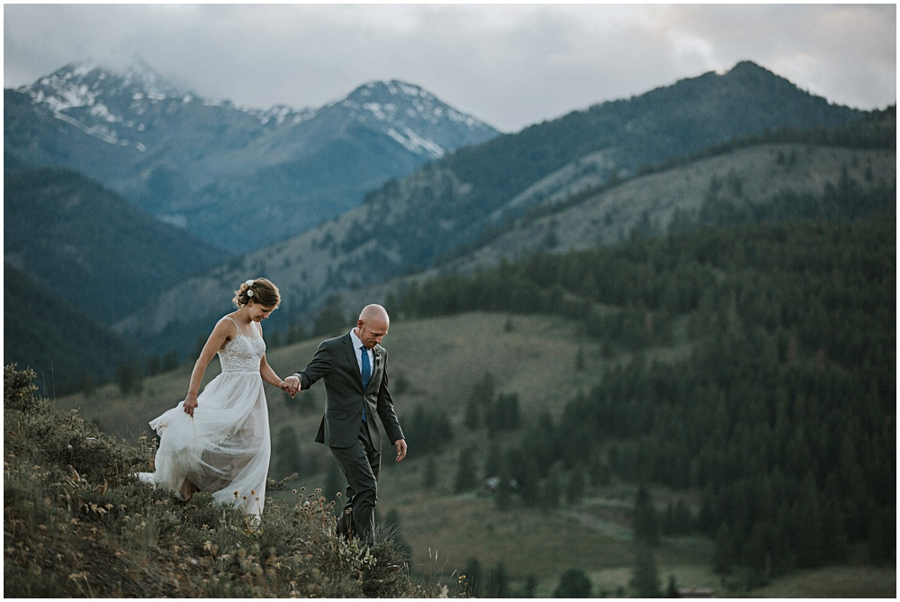 Elopement Sun Mountain Lodge North Cascades Winthrop WA