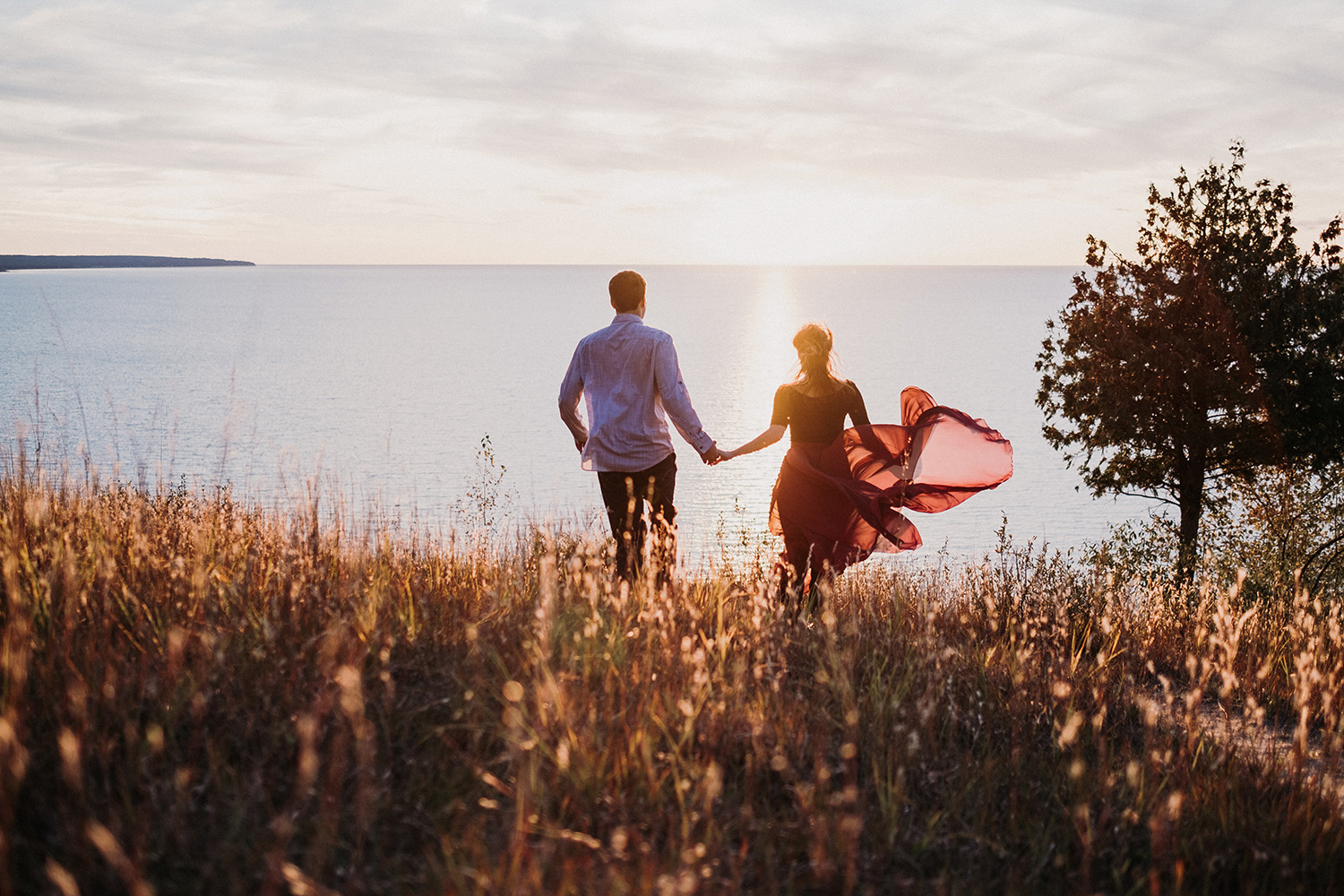 Traverse City Engagement Photos